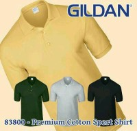 kaos polo shirt GILDAN premium cotton 83800 SIZE XXL