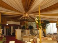 Dekorasi tenda pernikahan di rumah Sidoarjo - Surabaya