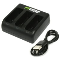 Wasabi Power Triple Charger for GoPro HERO 5