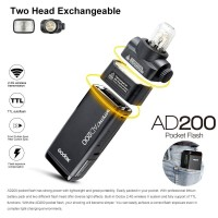 Godox AD200 Pocket Flash Speedlite