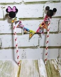Topper Cake Mickey Minnie Mouse/ Topper Cake Karakter by Esslshop