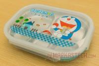 Kotak Makan / Lunch Box Anak Stainless Doraemon