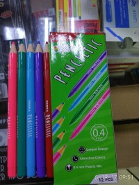Ballpoint pulpen warna warni Penciltic boxy