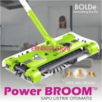 POWER BROOM BOLDe ORIGINAL Sapu Elektrik Dengan Baterai Rechargeable