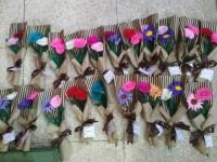 Bouquet Bunga Wisuda / Buket Bunga Flanel / Hadiah sidang