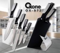 Oxone Ox-972 Pisau Dapur Set, Knife Block Set WL Shop New