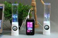 harga Speaker air mancur menari unik keren/lampu led/speaker aktif/souvenir Tokopedia.com