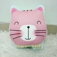 Bantal Boneka Plushie - Large Cat Syal (max 35x45 cm)
