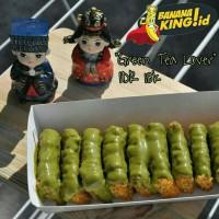 Green Tea Homemade Pisang Nugget Banana King.id - terenak termurah