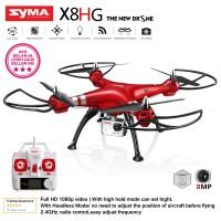 SYMA X8HG Red 8MP HD Camera  - The New Drone