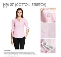 HM Pink Branded Basic Office Shirt | Kemeja Kantor Lengan Panjang