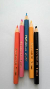 Pensil Warna Kecil Staedtler Luna (12 Warna) Murah