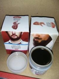 Krim Cream Minyak Kemiri Al Khodry Bulu Alis Kumis Jenggot Wak Doyok