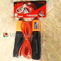 Skipping Jump Rope Counter Mekanikal Digital Lompat Tali Kansa Busa