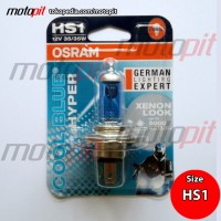 OSRAM Cool Blue Hyper HS1 35/35W Lampu Motor Putih Bersih 5000K