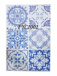 STICKER TEGEL FYC1002 45CM X 30 CM ISI 6 KOTAK BLUE FANTASTIC