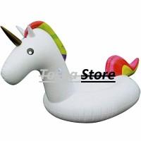 Ban Pelampung Raksasa Unicorn White / Pelampung Unicorn / Pelampung