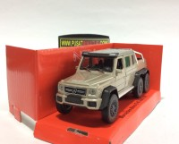 MERCEDES BENZ G 63 AMG 6X6 (GOLD) - SKALA 1:36 - WELLY (DIECAST)