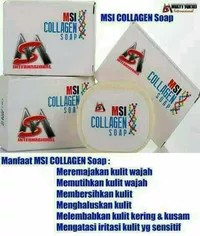 Sabun Collagen MSI Original 100%
