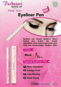Purbasari Eyeliner Pen Hitam Daily Series