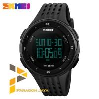 Jam Tangan Pria SKMEI 1219 Sport Original Watch Hitam / Model SUUNTO