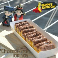 Pisang Nugget Chocozelnut (nugget pisang home made)