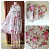 Mukena Bali Katun Rayon Shabby Chic Pink Rose
