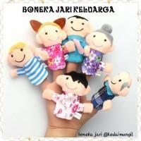 Boneka Jari Seri Keluarga (Family Finger Puppet)