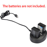 charger sony np-fw50 2 slot baterai kingma - sony mirrorless