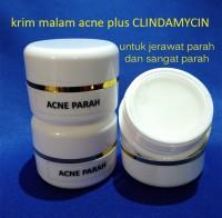 harga Krim malam acne plus clindamycin untuk jerawat parah dan sangat parah Tokopedia.com