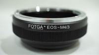 Fotga Lens Adapter, Lensa Canon EF to Panasonic Olympus / EOS - m4/3