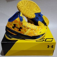 Under Armour Curry 2 high (Yellow Jerapa)