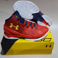 Under Armour Curry 2 high Red (floor general)