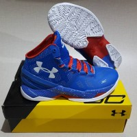 Under Armour Curry 2 high blue (Providence)
