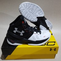 Under Armour Curry 2 high Black White