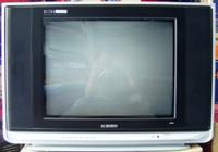 Ichiko 21SF6R Ultra Slim - Flat TV CRT Tabung 21 inch Layar Kaca Datar