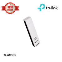 TP-LINK TL-WN727N 150Mbps Wireless N USB Adapter - White