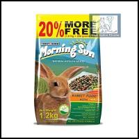 morning sun pakan makanan kelinci sekelas nova rabbit food