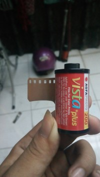 roll film negatif agfa vista plus 200 redscale