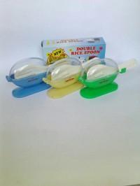 Centong Nasi Double Rice Spoon - Anti Lalat Higienis (2 pcs)