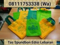 Tas Parcel / Goodie bags Spunbon Edisi Lebaran