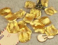 Rose Petal / Kelopak Mawar / Kelopak Bunga Gold Emas
