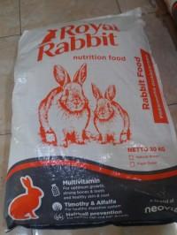 PELET PAKAN MAKANAN KELINCI PREMIUM ROYAL RABBIT FOOD 20 kg GOJEK