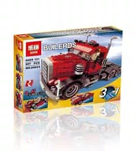 Lepin 24023 - Builders 3in 1 Changing Series Truck Set