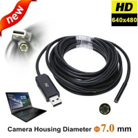 Kamera Endoskop USB 2 Meter Camera Endoscope Endoscopy 2 Meter