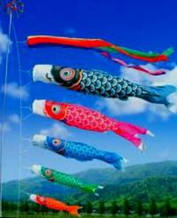 koinobori souvenir jepang gantungan model ikan dari jepang