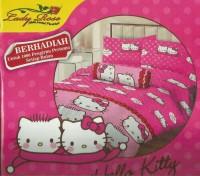 Sprei Lady rose 120x200 Hello Kitty pink