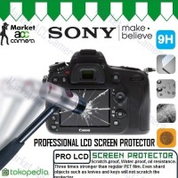 Screen Pro Tempered Glass LCD for Sony A6300/A6000/A5100/A5000/A3000
