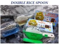 Wadah Sendok dengan 2 Sendok / Double Rice Spoon
