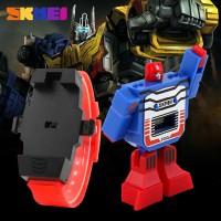 Jam Tangan Anak Cowok SKMEI 1095 Original / Robot / Transformers